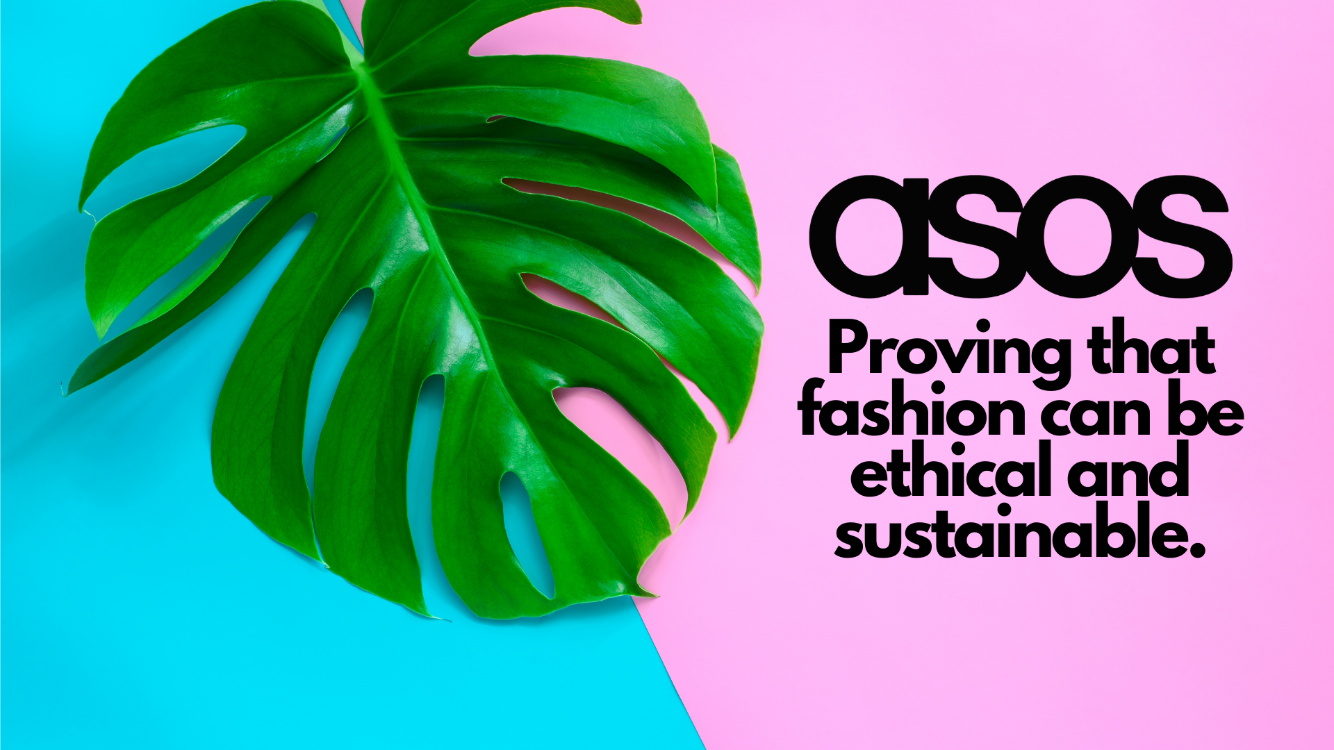 How ethical is ASOS fashion brand?
