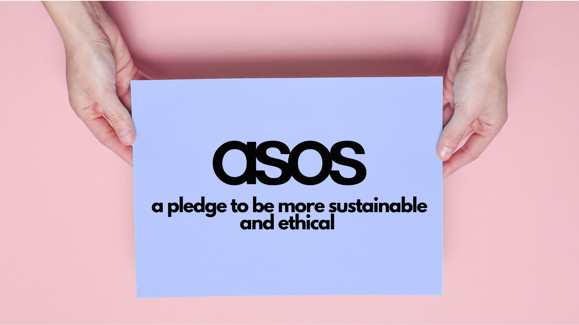 Ethical brands in fast fashion like ASOS